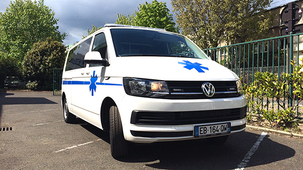 Ambulance de démonstration